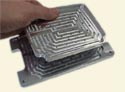 Two part fixture tray